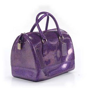 Furla Candy Bag Purple Glitter